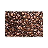 Print Funny Roasted Coffee Beans Placemats for Dining Table Set of 6,Rectangular Placemats,Placemats for Kitchen