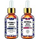 2-Pack Wumal Vitamin C Improve Skin Texture & Glow Day and Night Serum