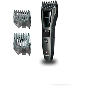 Panasonic ER-GB60-K503 Regolabarba e Tagliacapelli, Lavabile, pettine per i capelli o barba: 11-20mm, 1-10mm, Nero/Grigio Scuro