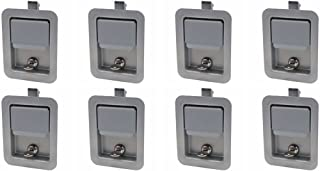 Set of 8, Buyers Products L3980-x8, L3885GO-x8 Paintable (not Stainless) Paddle Latch & Gasket for Tool Box Door, Truck and Utility Body