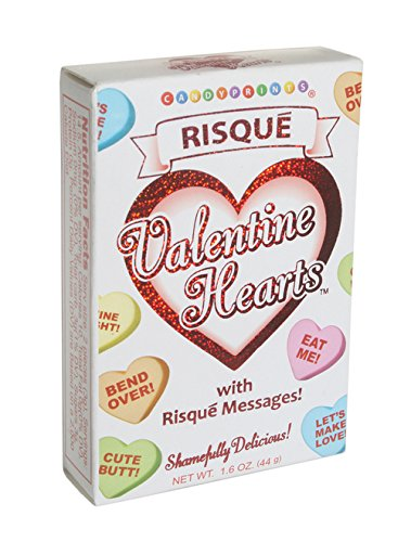 Adult Valentine Conversation Hearts Risque Candy 2 Pack