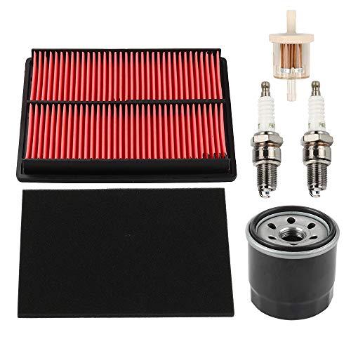 Yermax GX610 Air Filter Oil Filter Spark Plug for Honda GX620 GX670 GXV610 GXV620 GXV670 18HP 20HP 24HP Engine 17210-ZJ1-841 17210-ZJ1-842