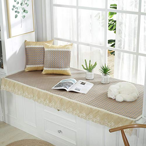 ZTMN mat voor de zomer, kussen voor ramen in beuken, vershoudoplegger van rotan, ijs, zomer, mat, tatami, vensterbank, balkon, 70 x 150 cm