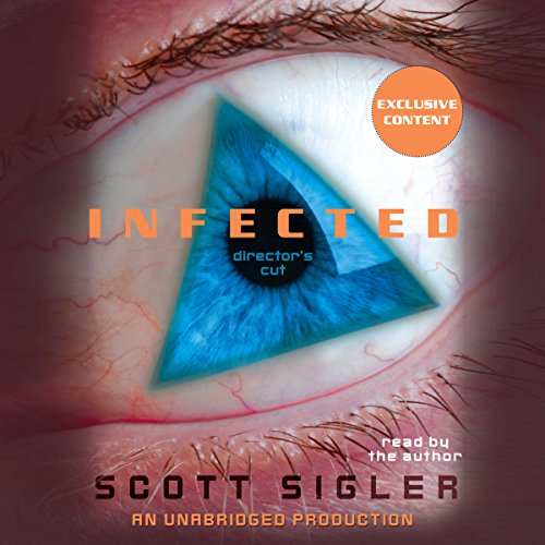 Infected audiobook cover art