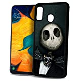 for Samsung Galaxy A20 A30, Durable Protective Soft Back Case Phone Cover - HOT11626 Nightmare Before Christmas 11626