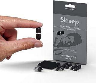 Sleep Ear Plugs - Flare Audio® Sleeep® Sleeping Earplug - Aluminium Reusable Earplugs (Natural Finish)