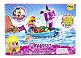Pinypon - Bote Pirata con una figurita (Famosa 700014203)...