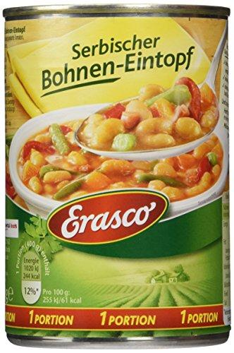 Erasco Serbischer Bohnen-Eintopf, 3er Pack (3 x 400 g)
