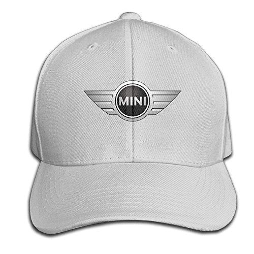 Youaini Unisex Mini Cooper Logo Adjustable Peaked Baseball Caps Hats Duck Tongue Hat
