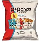 Popchips Variety Single Serve 6 Pack Chip, 4.8 oz