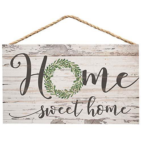 P. Graham Dunn Home Sweet Home Whitewash 6 x 3.5...