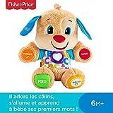 Fisher-Price Puppy Eveil Progressif jouet bébé, peluche interactive, plus de 50...
