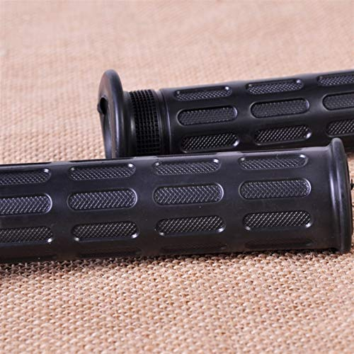 WXSM 7/8'22mm para H-Arley para Y-amaha Acelerador Antideslizante Manillar De Motocicleta Pit Dirt Motocross Empuñaduras De Scooter Vintage