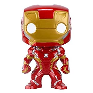 Funko Pop Iron Man (Capitán América: Civil War 126) Funko Pop Capitán américa