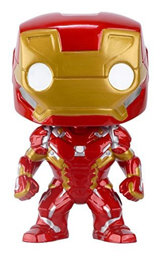 Funko POP!: Marvel: Captitán América: Civil War: Iron Man