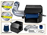 Cold Air Intake System with Heat Shield Kit + Filter Combo BLUE Compatible For 13-20 Scion FR-S/Subaru BR-Z L4 2.0L