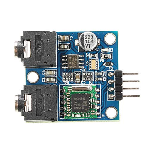 Ywzhushengmaoyi TEA5767 76-108MHZ FM Stereo Radio Module With Antenna Geekcreit for A-r-d-u-i-n-o - products that work with official A-r-d-u-i-n-o boards 5Pcs Electronics Module Parts