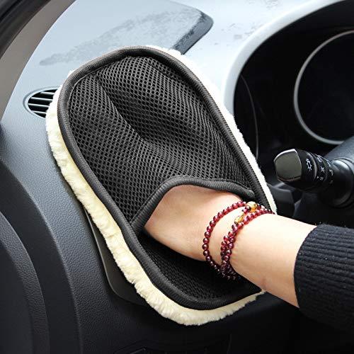 N/A Auto styling zachte auto washandschoenen schoonmaak borstel motorfiets wasmachine onderhoud