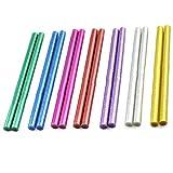 Xinlie Glitter Hot Melt Glue Stick Adesivi Bastoncini Colla Colorata Per Pistole Per Colla a CaldoØ11mm14Pezzi Bastoncini Per Colla Colorati Colla a