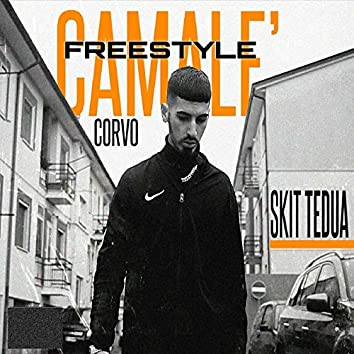 Camalé freestyle skit Tedua