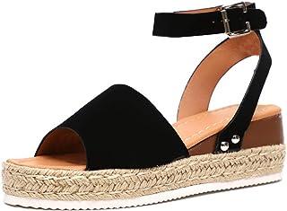 Compensées Femme Chaussures Femme Compensées Amazon Chaussures c3ARS5qj4L