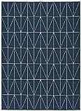 Universal Alfombra Indoor-Outdoor Nicol Geométrica, 100% Polipropileno, 160 x 230 cm