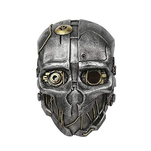 VAWAA Frp Dishonored 2 Corvo Attano Maske Dishonored Corvo Attano Helm Für Cosplay Spiel Kostüm Zubehör