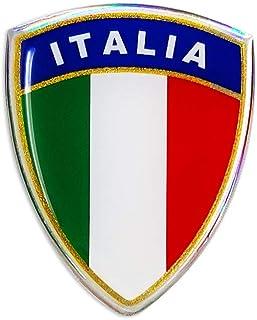 4R Quattroerre.it 495 3D Aufkleber klassischer Schild Italien