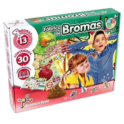 Science4You-5.60098E+12 Fbrica de Bromas para Nios +8 Aos, Multicolor, nica (80002081)