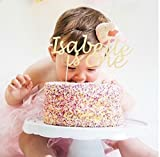 Custom Birthday Name and age Party Cake Topper. Cake Decoration. All Glitter Colours.