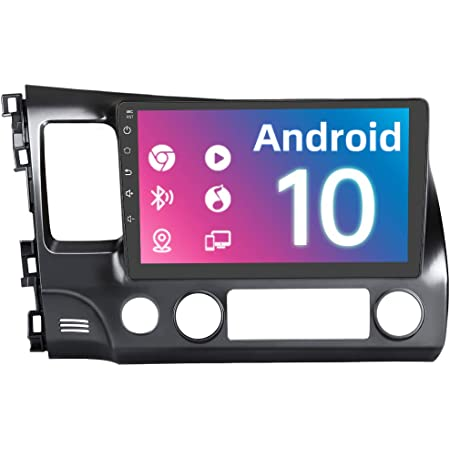AWESAFE Car Radio Head Unit Andriod 10.0 for Honda Civic 2006-2011 Car Stereo with Bluetooth WiFi Mirror Link GPS Navigation