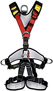 YaeTact Full Body Safety Rock Climbing Tree Rappelling Harness