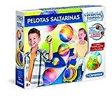 Clementoni- Pelotas Saltarinas Kit de Diencia para Niños, Multicolor...