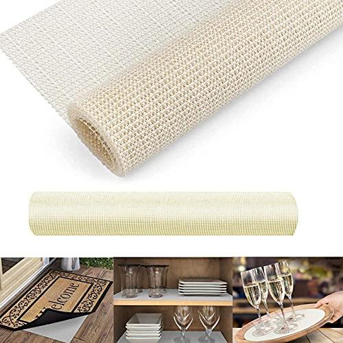 MAIYADUO 100x150 cm Rug Anti Slip Non Slip Rug Mat Liner Carpet Gripper Underlay for Hard Floors Rug...
