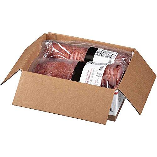 Tyson Bonici Canadian Style Sliced Bacon, 5 Pound -- 2 per case.