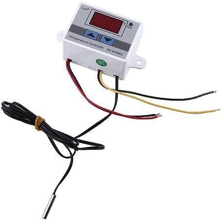 40 à 120℃ Thermostat 200-240V Contrôleur Numérique de Température Thermocouple