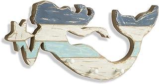 MONTEMAGGI Percha de Ganchos de 5 cm Corazon de Hierro de 42 x 3 X 21