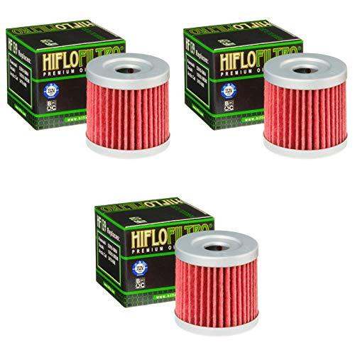 Preisvergleich Produktbild Hiflo 3x Ölfilter DR-Z 400 SMU 2005-2007 HF139