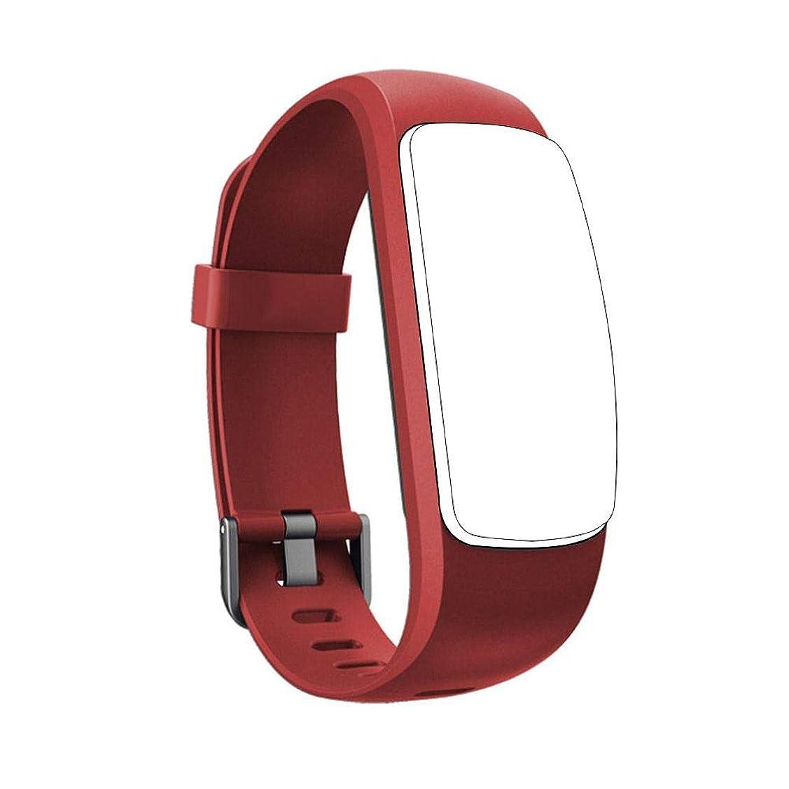 石膏いっぱい刺すFECHO ID107PLUS HRスマートブレスレット対応 時計バンド シリコン 完全防水替えベルト 腕時計ストラップ 腕時計交換用バンド ソフトサイズ調整 柔らかく スポーツ レディース メンズ