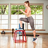 j/fit Plyometric Jump Boxes - Singles in Heights of 12', 18', 24' and Sets up to 30'