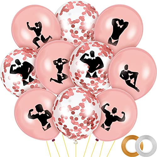 60 Pieces Bachelorette Party Balloons Decorations...