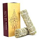 Smudge Salvia del Deserto – Incienso 100 % natural para quemar – Ideal para purificaciones, rituales y ceremonias – 2 unidades 12 x 3 cm