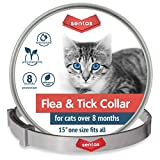 Sentas Cat Collar for 8-Month Validity Period Adjustable Collars for Cat Kitten Collar Fits All Cats Pet Supplies (Fruit)