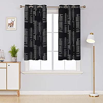 Deconovo Blackout Curtains Room Darkening Thermal Insulated Draperies Grommet Window Treatments