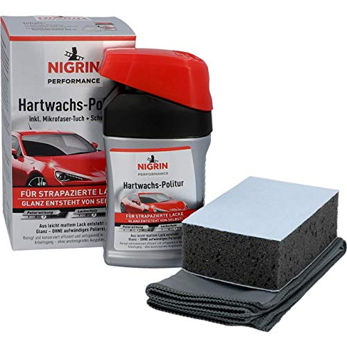 NIGRIN 72971 Performance Hartwachs-Politur Turbo 300 ml
