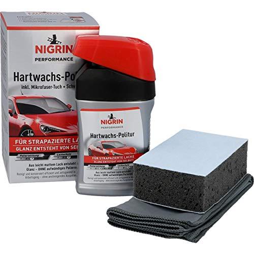 Preisvergleich Produktbild NIGRIN 72971 Performance Hartwachs-Politur Turbo 300 ml