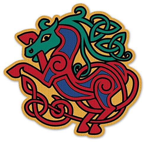Irish Celtic Horse Decal Vinyl Window Sticker
