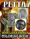 Petta Dots Lines Swirls Coloring Book: Great Petta Diagonal-Dots-Swirls Activity Books For Adults And Kids! High-Quality