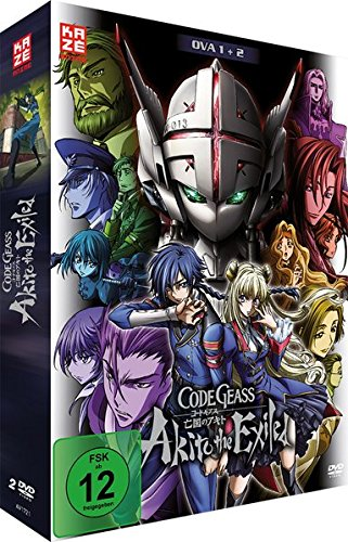 Code Geass: Akito the Exiled - OVA 1+2 - [DVD]