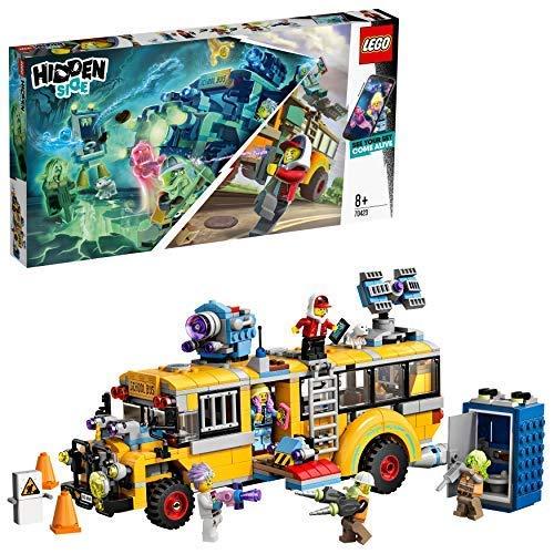 LEGO - Hidden Side Autobus di Intercettazione Paranormale 3000 Set di Costruzione, Set per la Realtà Aumentata per iPhone/Android, 70423